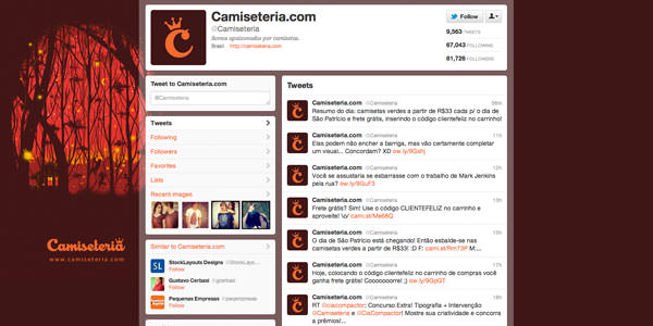 Twitter Background Layouts (7)
