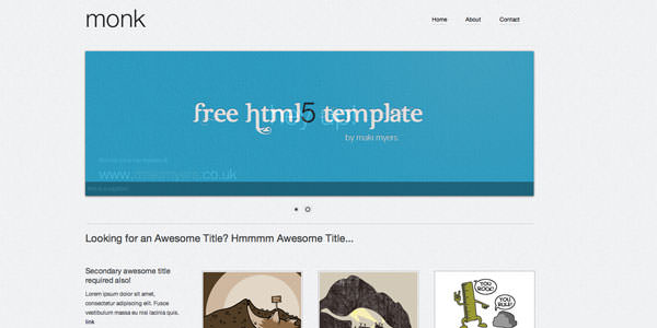Free HTML Website Templates (7)