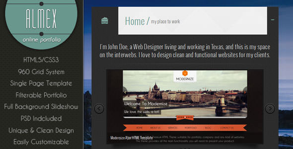 Premium HTML Website Templates and Layouts (10)
