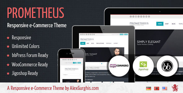 Premium WordPress eCommerce / Shopping Cart Themes (10)