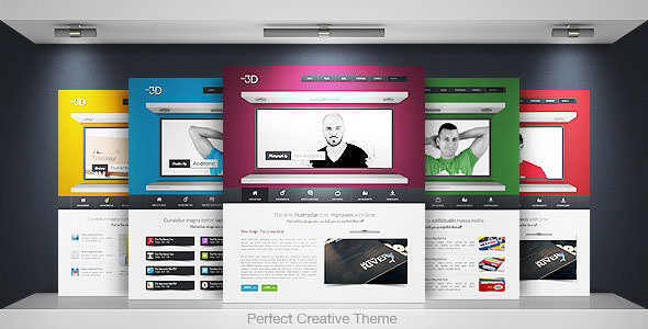 Premium HTML Website Templates and Layouts (12)