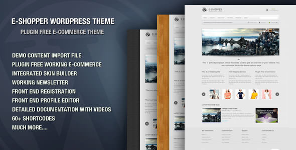Premium WordPress eCommerce / Shopping Cart Themes (13)