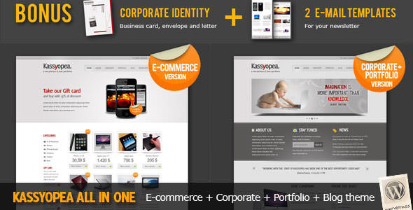 Premium WordPress eCommerce / Shopping Cart Themes (14)