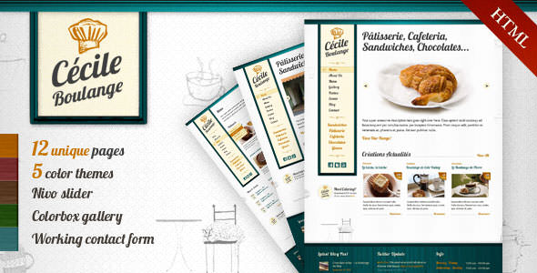 Premium HTML Website Templates and Layouts (15)