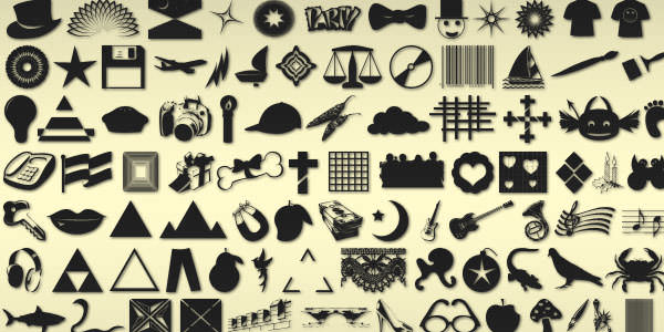 Photoshop Custom Shapes (20)