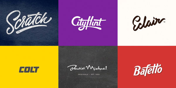 25 type based logos for inspiration