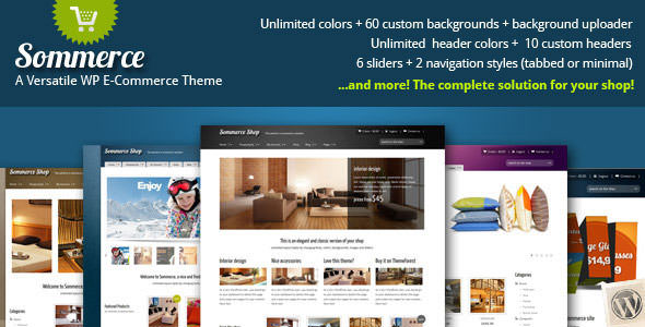 Premium WordPress eCommerce / Shopping Cart Themes (2)