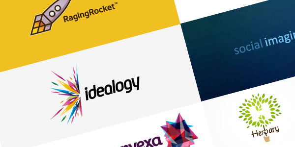 30 Bright & Energetic Logo Designs