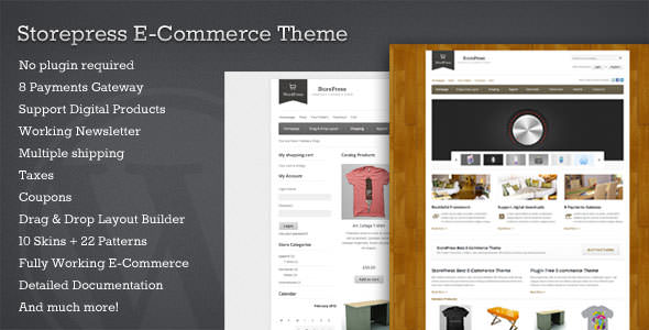 Premium WordPress eCommerce / Shopping Cart Themes (3)