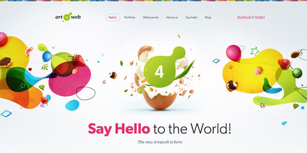 Colorful Web Designs (3)