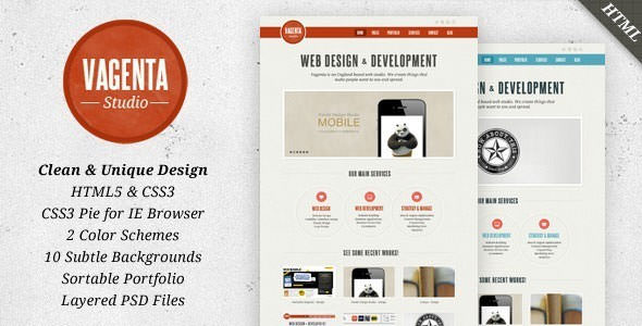 Premium HTML Website Templates and Layouts (4)