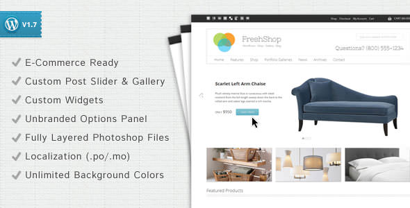 Premium WordPress eCommerce / Shopping Cart Themes (4)