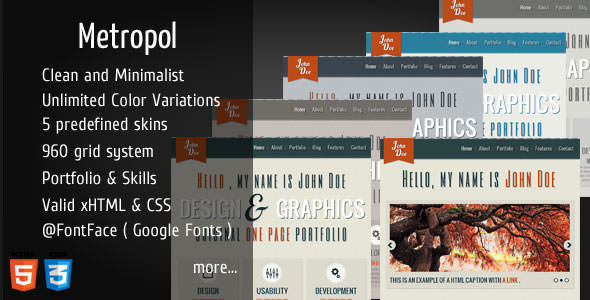 Premium HTML Website Templates and Layouts (5)