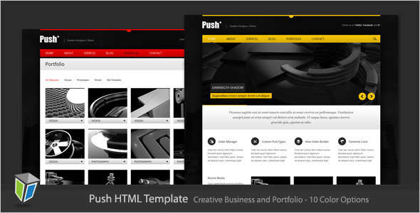 Premium HTML Website Templates and Layouts (7)