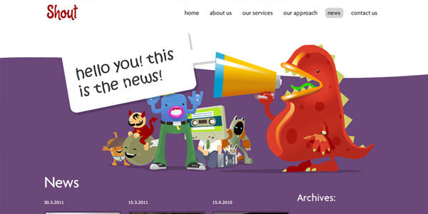 Colorful Web Designs (7)