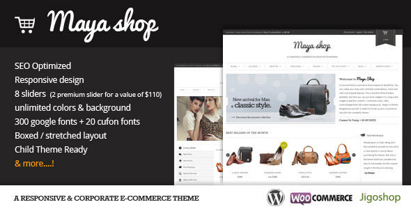 Premium WordPress eCommerce / Shopping Cart Themes (9)