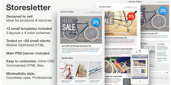 25 free and premium email newsletter templates and layouts