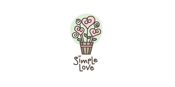 Love and Dating Logo Design Examples for Inspiration (15)