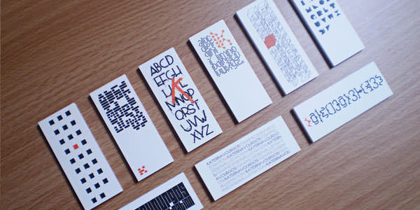 Awesome Mini Business Cards for Inspiration (10)
