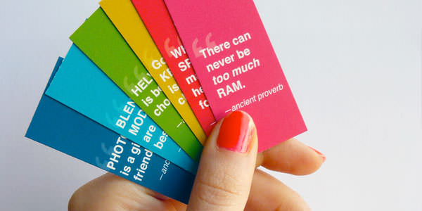 Awesome Mini Business Cards for Inspiration (11)