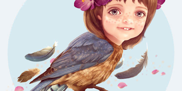 20 Painting and Illustration Tutorials for Adobe Photoshop (20)