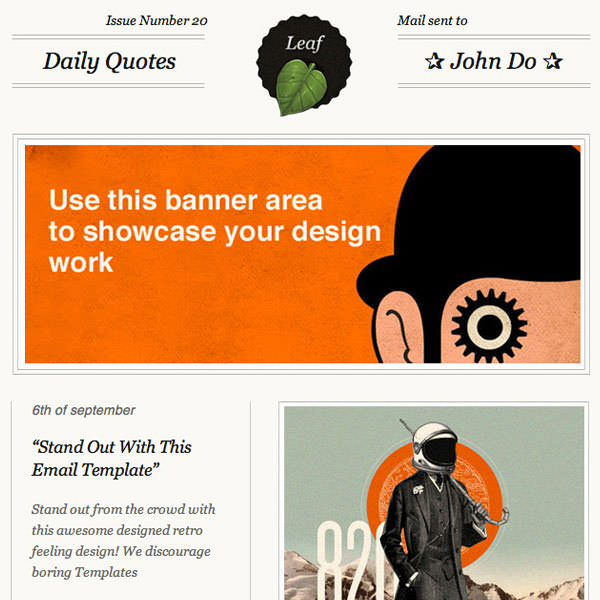 Email Newsletter Designs Examples for Inspiration (9)