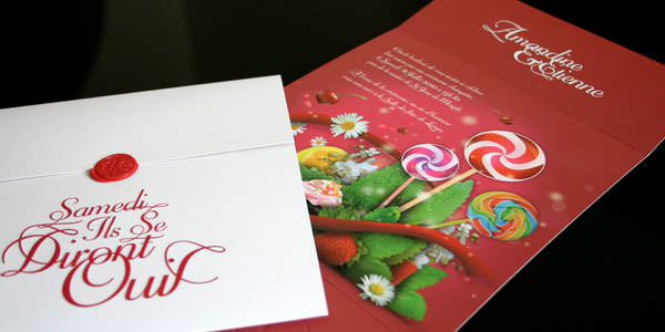 Save the Date and Wedding Invitation Designs by Web & Graphic Designers