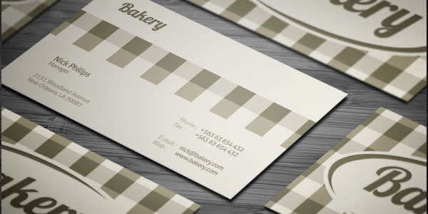 Free and Premium Business Card PSD Templates (12)