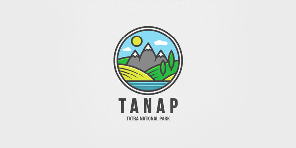 Beautiful Landscape Logo Design Examples for Inspiration (14)