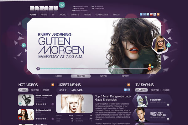Purple Websites for Inspiration (14)