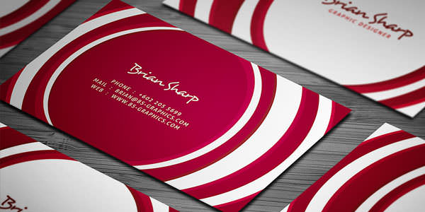 Free and Premium Business Card PSD Templates (15)
