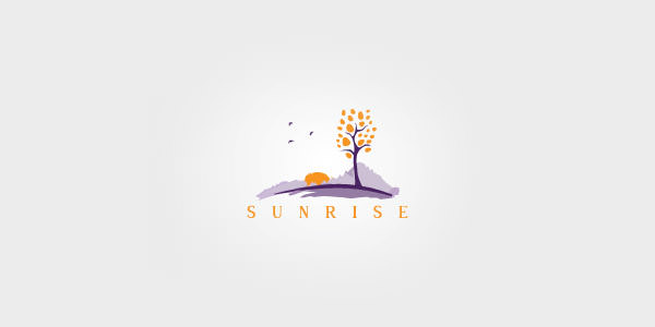 Beautiful Landscape Logo Design Examples for Inspiration (20)