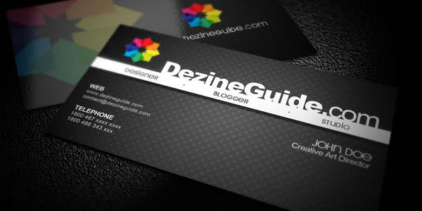 Free and Premium Business Card PSD Templates (2)