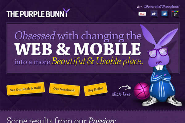 Purple Websites for Inspiration (2)