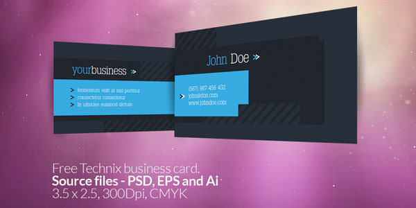 Free and Premium Business Card PSD Templates (5)