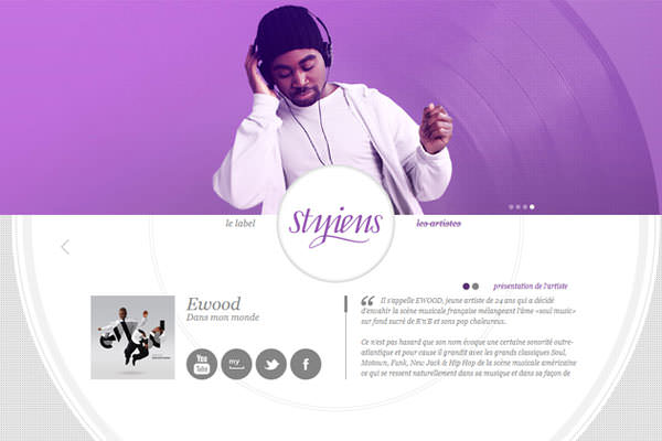 Purple Websites for Inspiration (5)