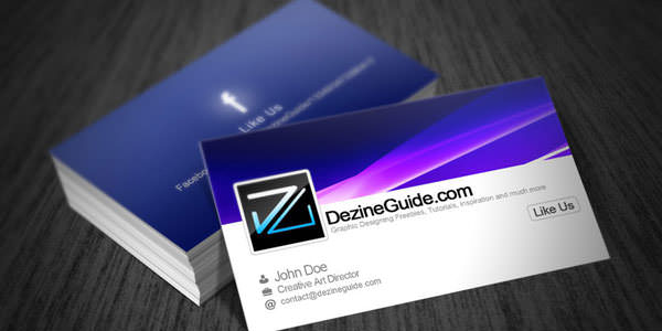 Free and Premium Business Card PSD Templates (6)