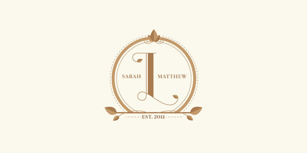 Wedding Monogram Design for Inspiration (6)