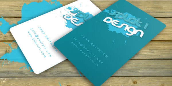 Free and Premium Business Card PSD Templates (7)