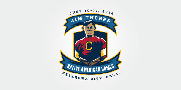 Jim Thorpe Native American Games Logo