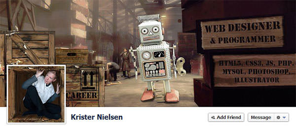 Creative Design for Facebook Timeline Covers (6)