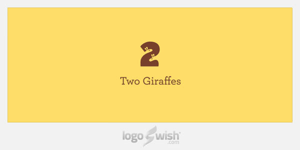 Two Giraffes by Sean Farrell
