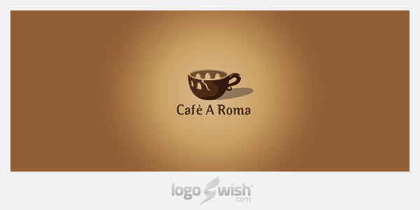 Cafe A Roma by Stevan Rodic