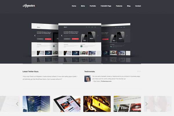 High Quality Responsive and Retina Display Ready WordPress Themes