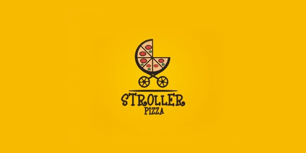 Pizza Logo Design Collection for Inspiration (14)