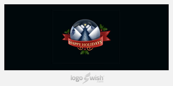 Happy Holidays by Arnas Goldbergas