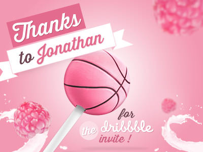 Dribbble Invitation Thanks Graphics Inspiration (17)