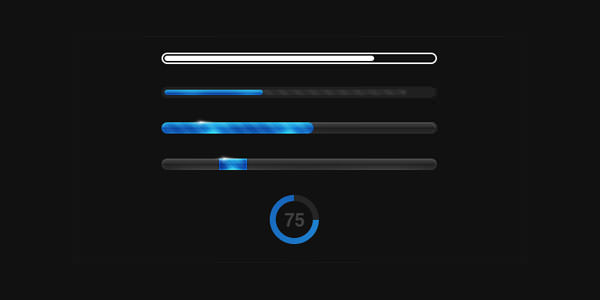 Creative Dynamic Progress and Loading Bars Design For Inspiration (22)
