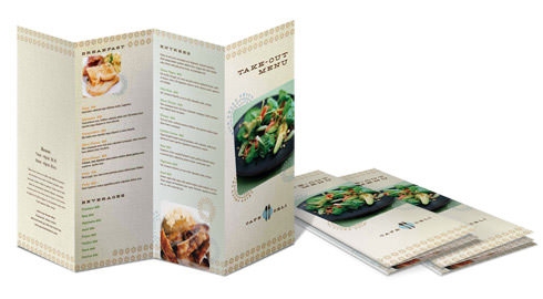 Full Color Brochure Printing at UPrinting