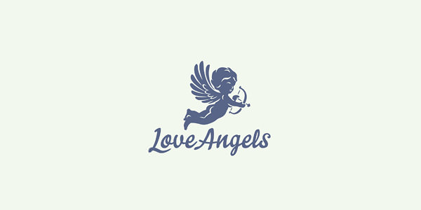 Angel Logo Design for Inspiration (1)